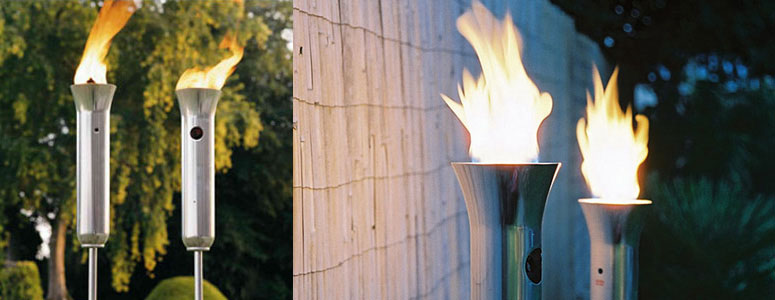 Olympic Torch - Propane Patio Torches