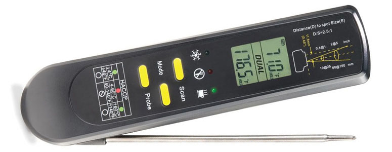 Executive Chefs One Second Probe And Surface Thermometer