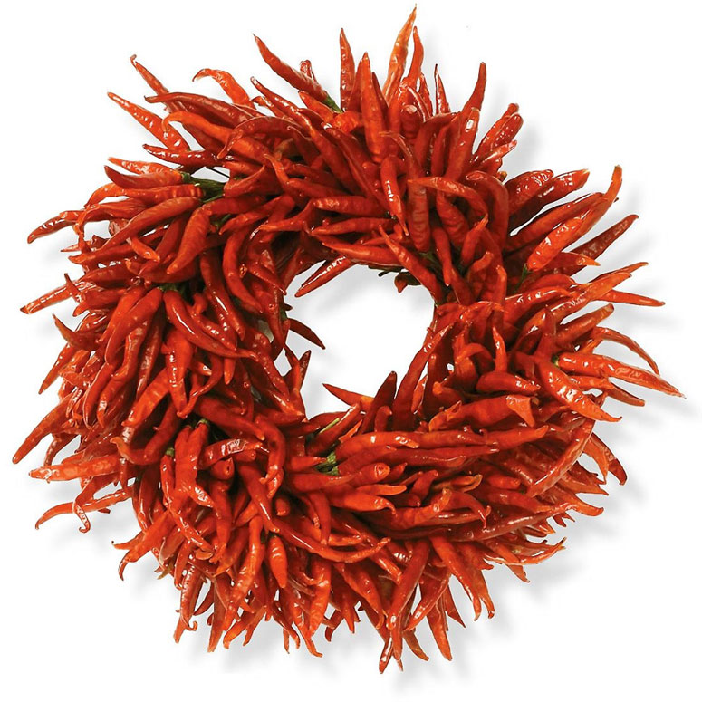 Image result for hot pepper wreath