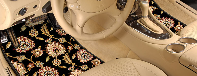 Oriental Rug Auto Floor Mats The Green Head