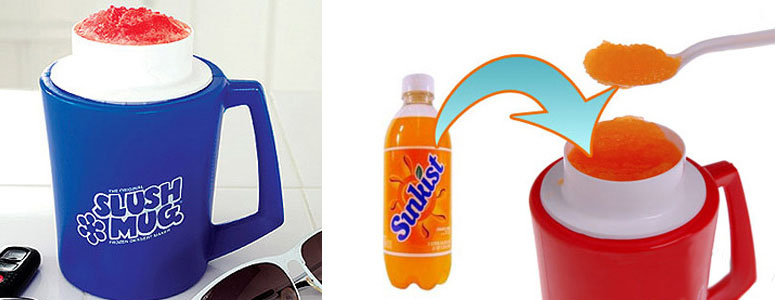 Original Slush Mug - Transforms a Drink into Slushee!
