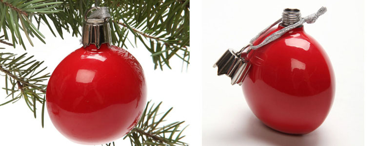 Ornament Flask