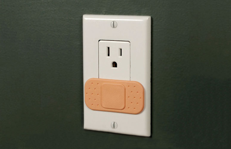 Ouchlet - Power Outlet Bandage Covers