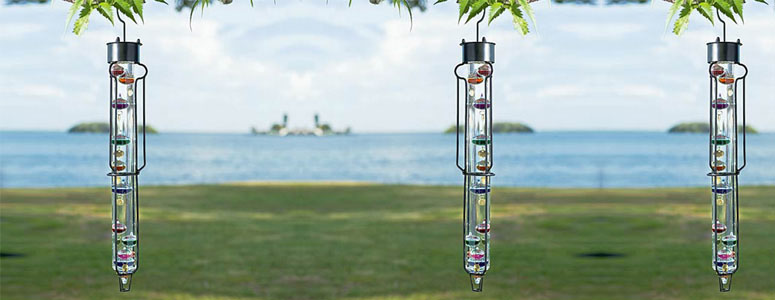 Outdoor Galileo Thermometer