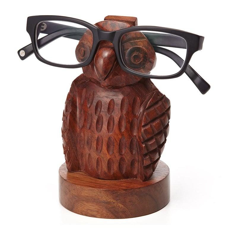 Owl Eyeglass Holder The Green Head