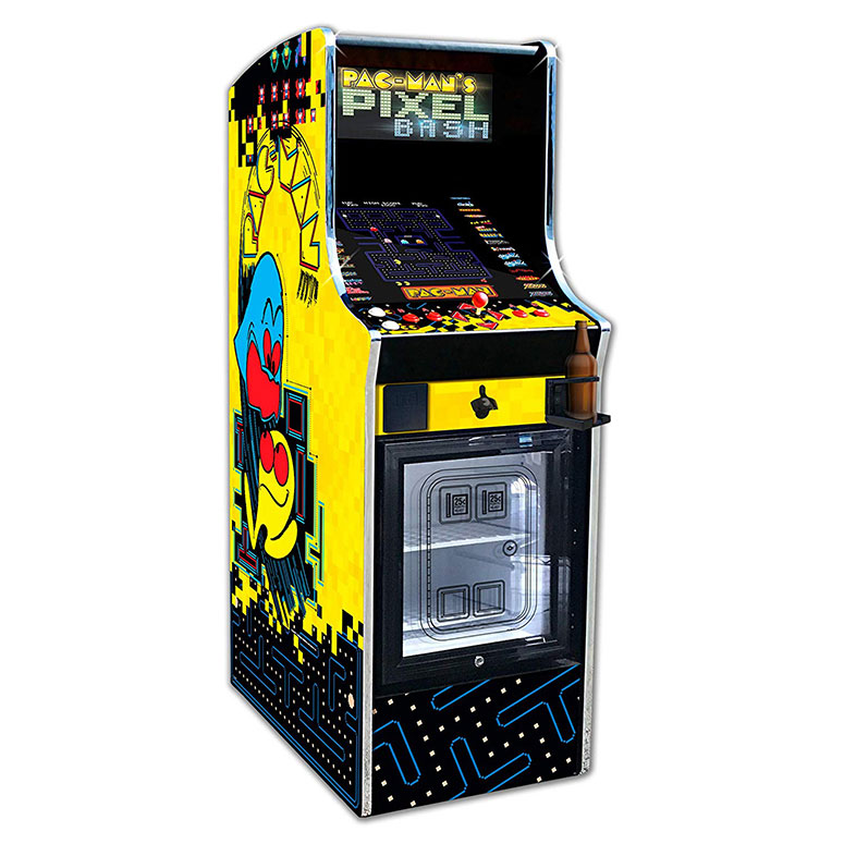 Pac Man Pixel Bash Chill 32 Game Arcade W Built In Mini