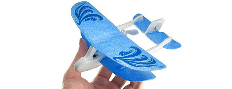 Palm-Z Mini Indoor R/C Airplane