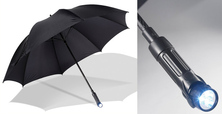 Path Illuminating Umbrella