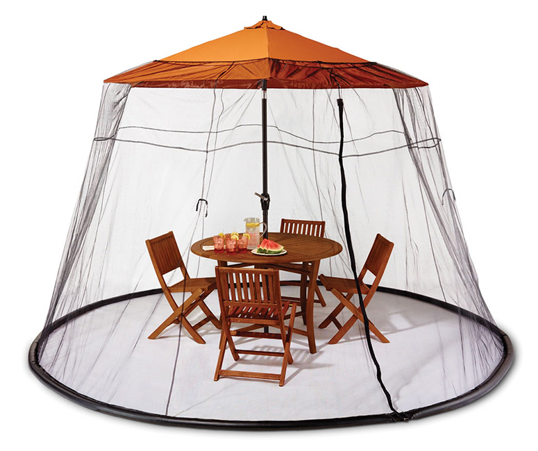Merveilleux Patio Table Mosquito Canopy