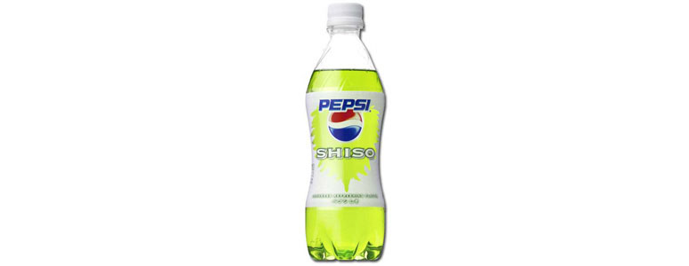 Pepsi Shiso from Japan