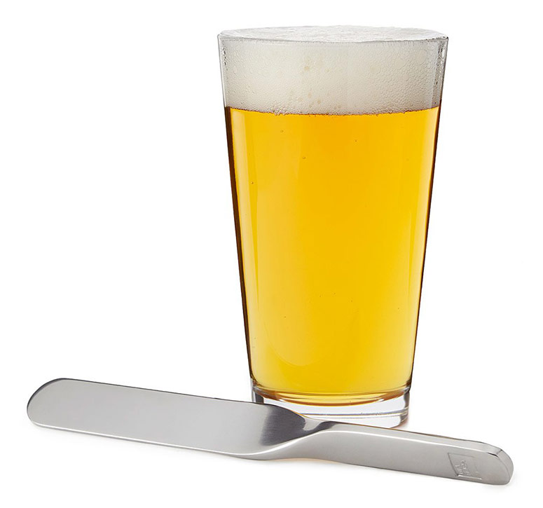 Perfect Pour Beer Foam Skimmer Blade