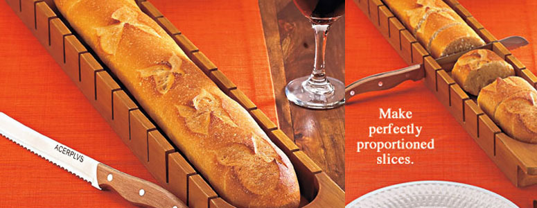 Perfect Slice Bread Tray