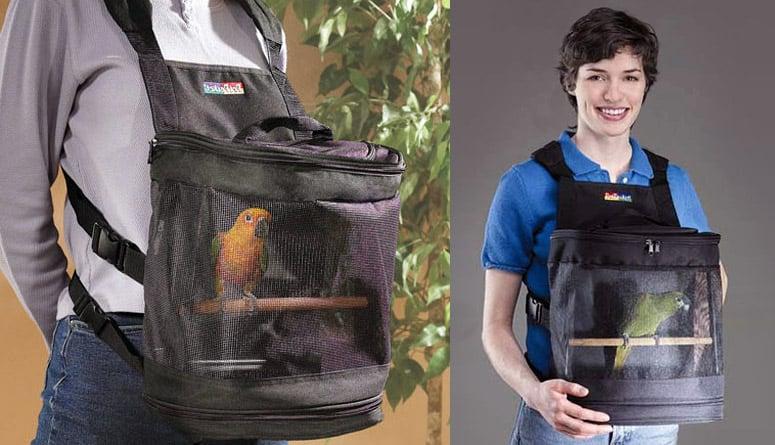 Pet Pocket Bird Carrier The Green Head