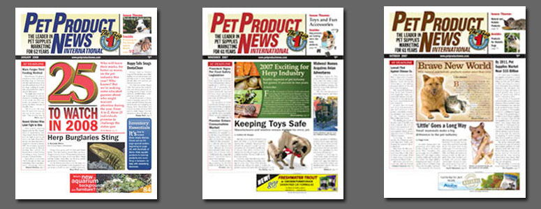 FREE - Pet Product News International Magazine