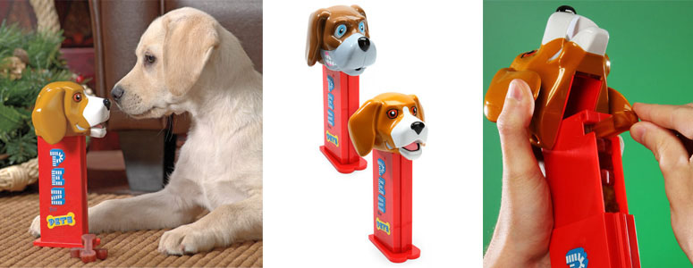 PEZ Dog Treat Dispenser