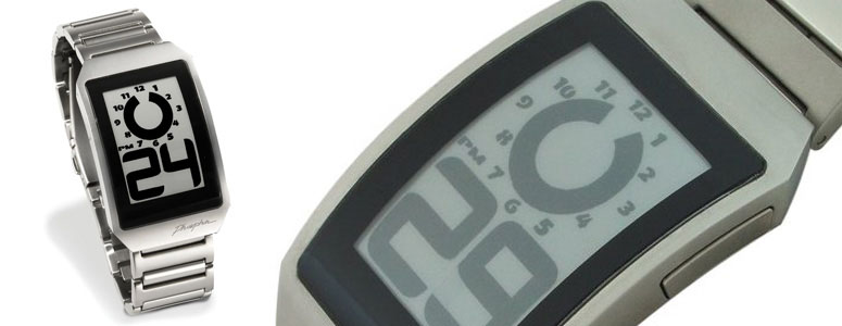 Phosphor E-Ink Watch