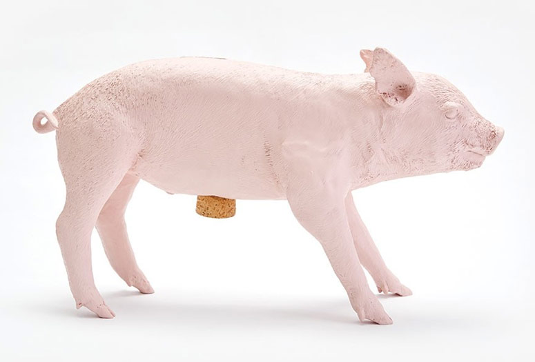 Pig Bank - Piggy Bank in the Form of an Actual Pig