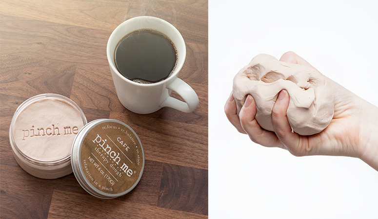 Pinch Me - Coffee Scented Therapy Dough