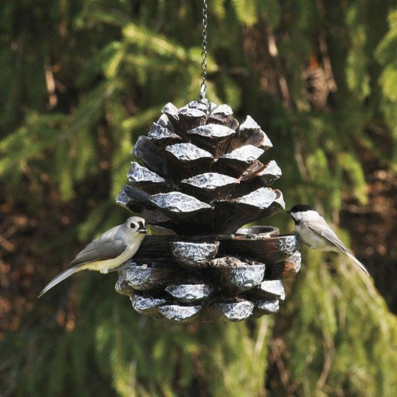 Pine Cone Bird Feeder The Green Head