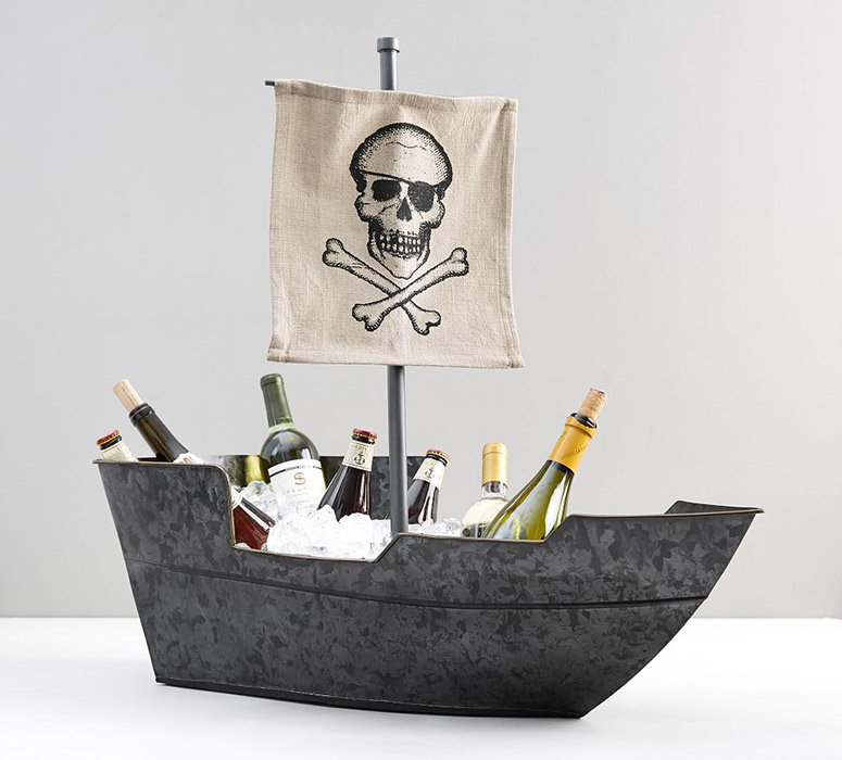 Pirate Ship Party Bucket