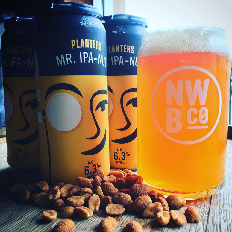 Planters Mr. IPA-Nut - Peanut Flavored Beer