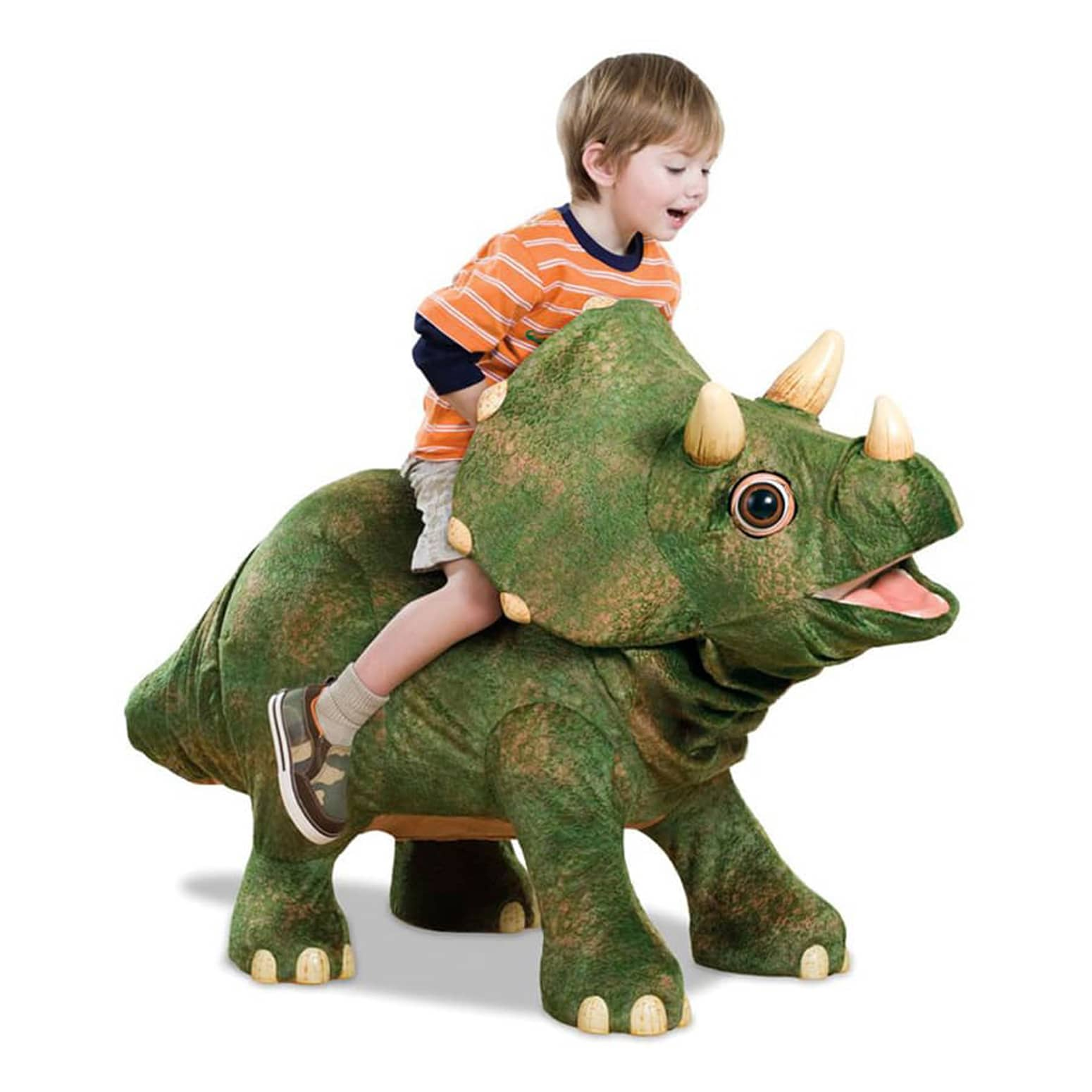 Kota the Robotic Triceratops Dinosaur