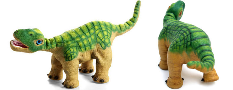 Pleo Dinosaur - Autonomous Robotic Life Form (Video)