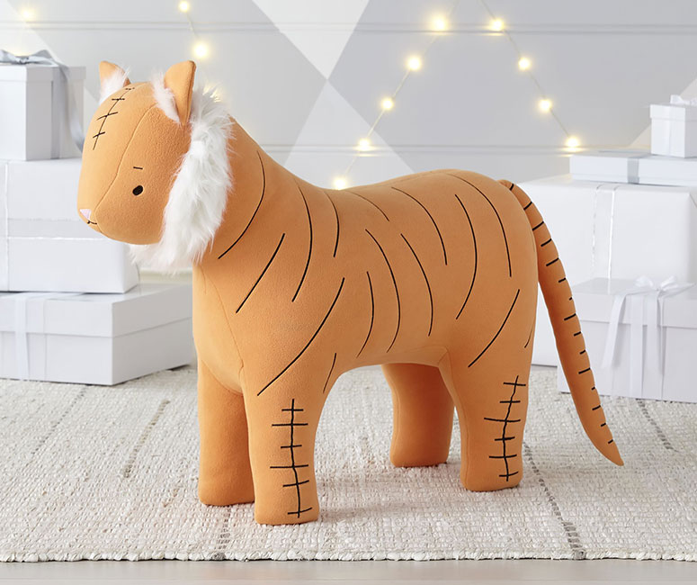 Plush Tiger Ride On Toy