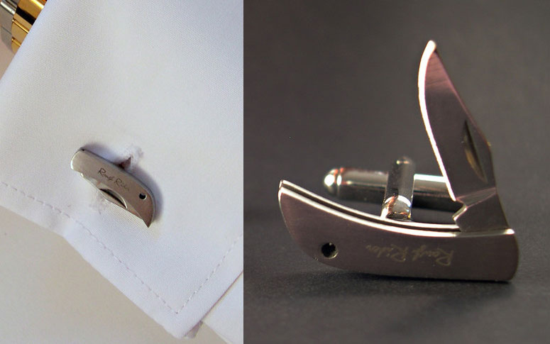 Pocket Knife Cufflinks