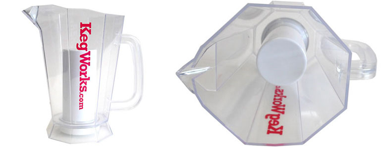 Polar Beer Pitcher With Ice Chamber The Green Head