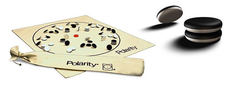 Polarity - Hovering Magnetic Disc Boardgame