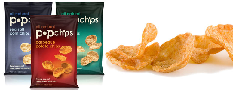 Popchips Make it Cool and Healthier to Snack Again!