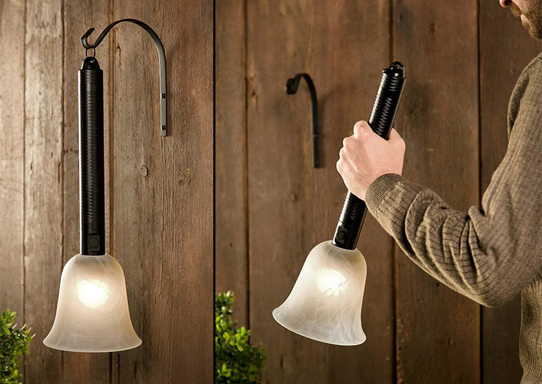 Portable Outdoor Lantern / Torch Patio Light & Portable Outdoor Lantern / Torch Patio Light - The Green Head
