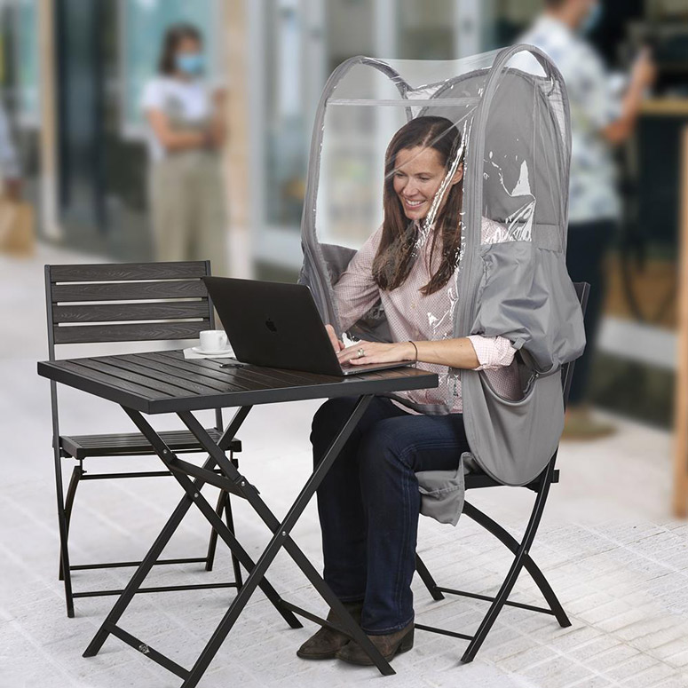 Portable Pop-Up Personal Protective Pod