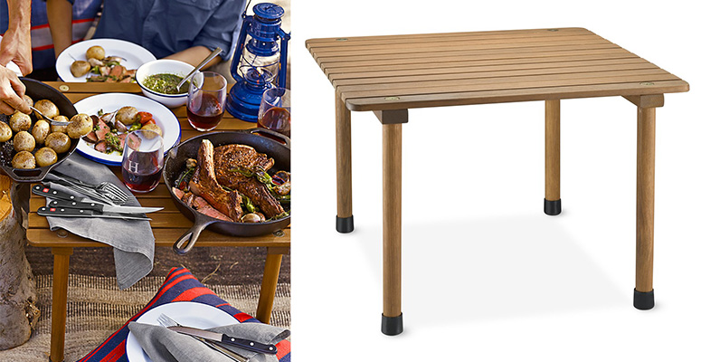 Portable Roll-Up Picnic Table