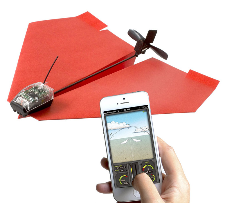 PowerUp 3.0 - App-Controlled R/C Paper Airplane