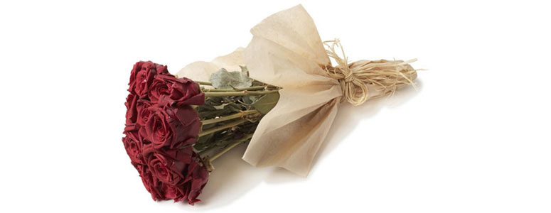 Preserved Red Rose Bouquet