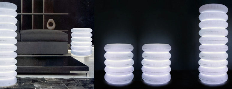 Puff Column Inflatable Lamp