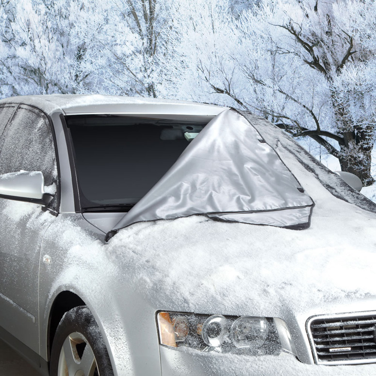 Quick Removal Windshield Snow Tarp