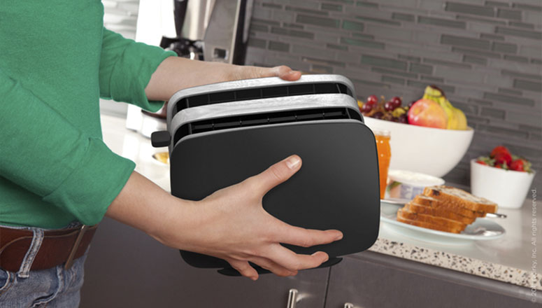 Quirky Crisp - Collapsible Toaster