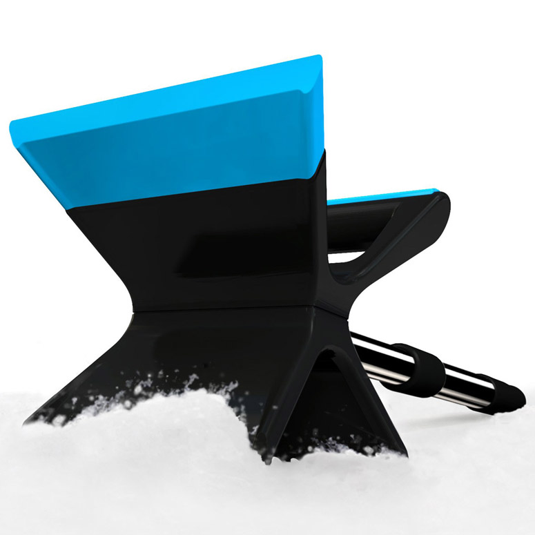 Quirky Thor - Collapsible Double-Bladed Ice Scraper