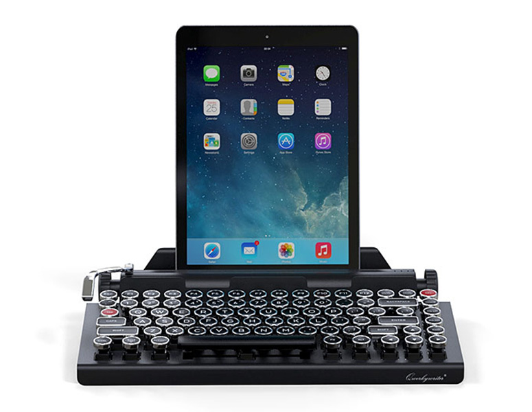 Qwerkywriter Bluetooth Typewriter Keyboard The Green Head