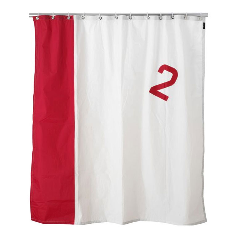 Real Boat Sail Shower Curtains