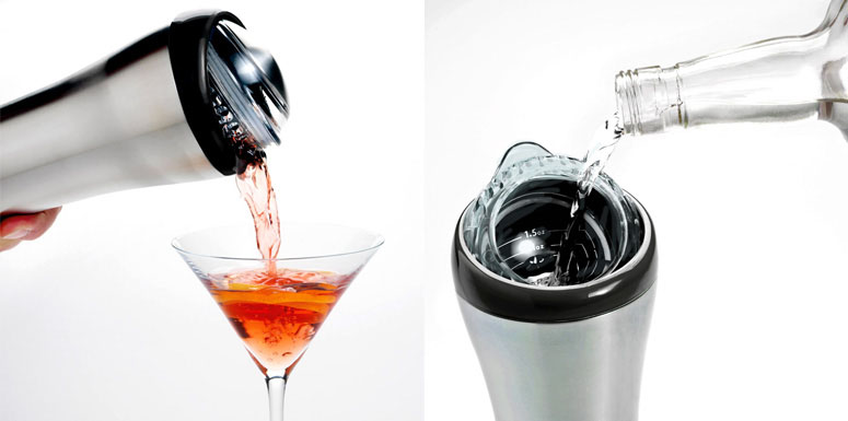 Refresh 3-in-1 Cocktail Shaker
