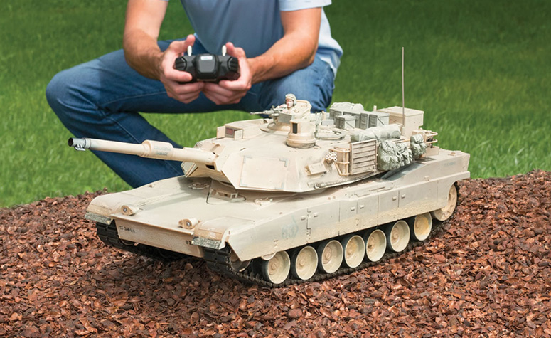 Remote Control M1a2 Abrams Tank The Green Head