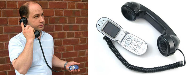 Retro Phone Handset - Classic Handset for Your Cell Phone!