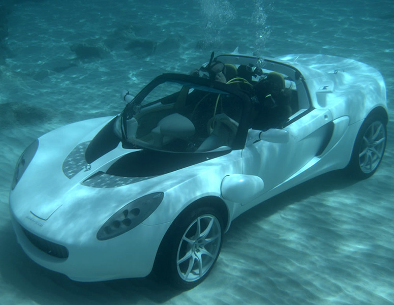 Rinspeed Squba Submarine Sports Car The Green Head