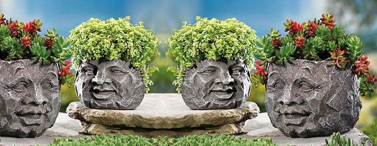 Rock Planters Sale Rock Face Planters