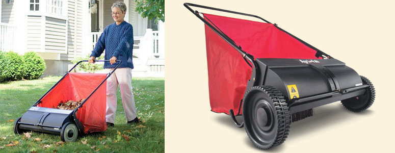 Rolling Leaf Sweeper