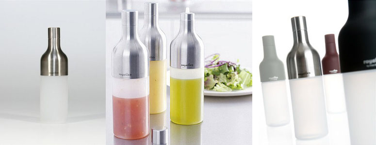 Royal VKB Squeeze Bottles with Stainless Steel Tops